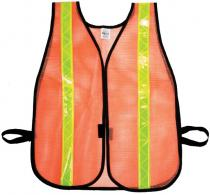 Heavy Weight Safety Vest - 1-3/8inch Lime