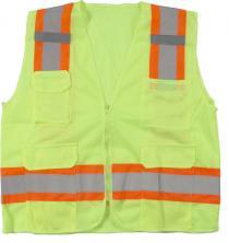 Ansi Class 2 Mesh Lime Surveyor Vest