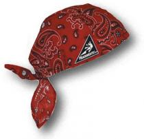 Coolheads Wrap Cot Red Paisley