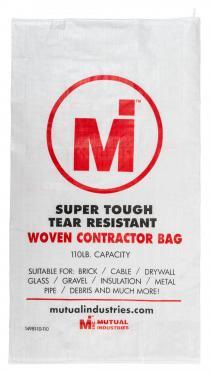 Woven Contractor Bag