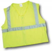 CL2 Lime Solid Durable Flame Retardant Vest