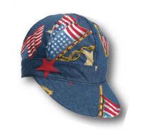 Kromer C349 Denim Flag Style Cap