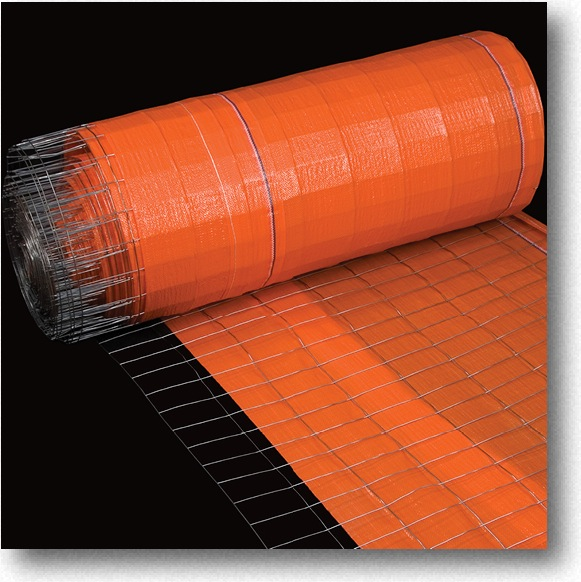 Wire Back Silt Fence Orange Mutual Industries