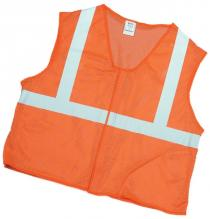 CL2 Orange Mesh Vest 2Sil