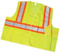 CL2 Lime Mesh Tear/Away With Pockets