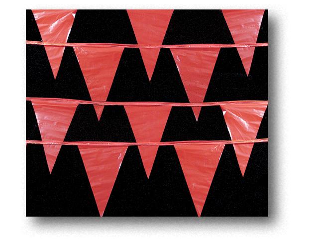 Pack of 3 OSHA Perimeter Marker Red 105 ft